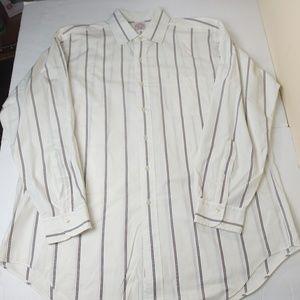 Brooks Brothers 16.5 Striped Dress Shirt